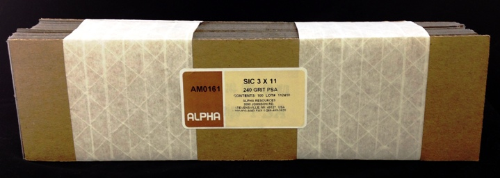 Alpha Resources Africa Product AM0161 in Grinding under Metallographic Supplies.