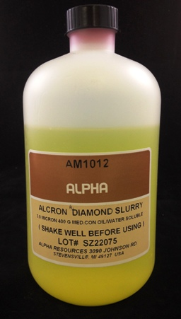 Alpha Resources Africa Product AM1012 in Diamond Polishing under Metallographic Supplies.