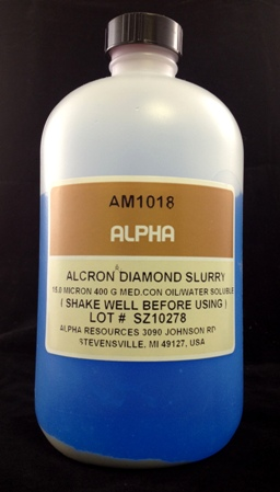 Alpha Resources Africa Product AM1018 in Diamond Polishing under Metallographic Supplies.