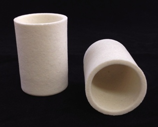 Alpha Resources Africa Product AR026 in Ceramic Crucibles under Sample Containment.