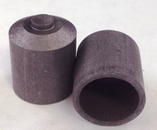 Alpha Resources Africa Product AR277 in Graphite Crucibles under Sample Containment.