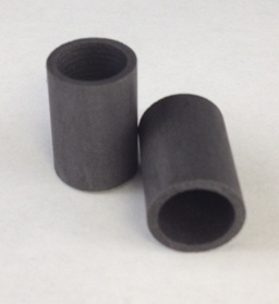 Alpha Resources Africa Product AR2795 in Graphite Crucibles under Sample Containment.